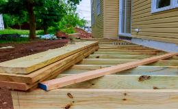 Les étapes de construction d'une terrasse en bois