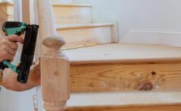 Escalier en bois : étapes de construction
