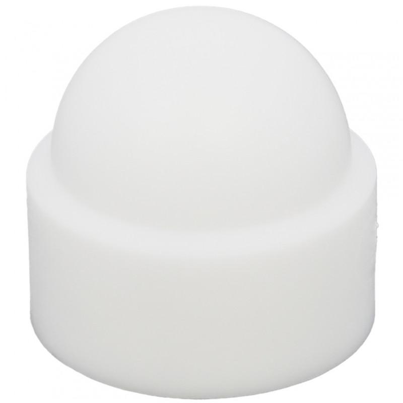Cache Ecrou Polyéthylène Blanc