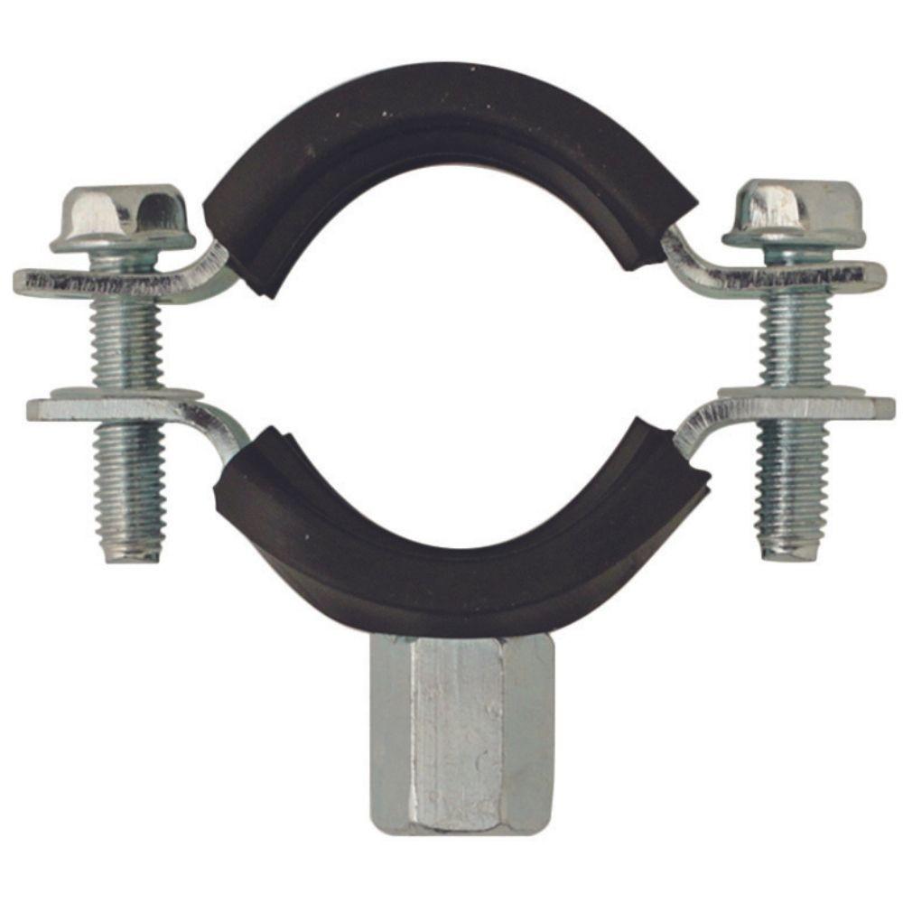 Collier Double Embase Isophonique pour Tube