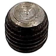 Vis Sans Tête Hexagonale Creuse Bout Cuvette Acier 14.9 Noir DIN 916 Pas de 75