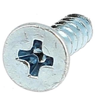 Plastite Tête Fraisée Phillips WN 1413 Acier Zingué Blanc