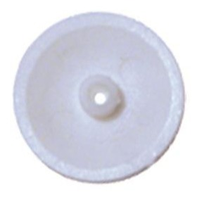 Capuchon Blanc pour Vis Béton Tête Fraisée Torx pour Chassis PVC