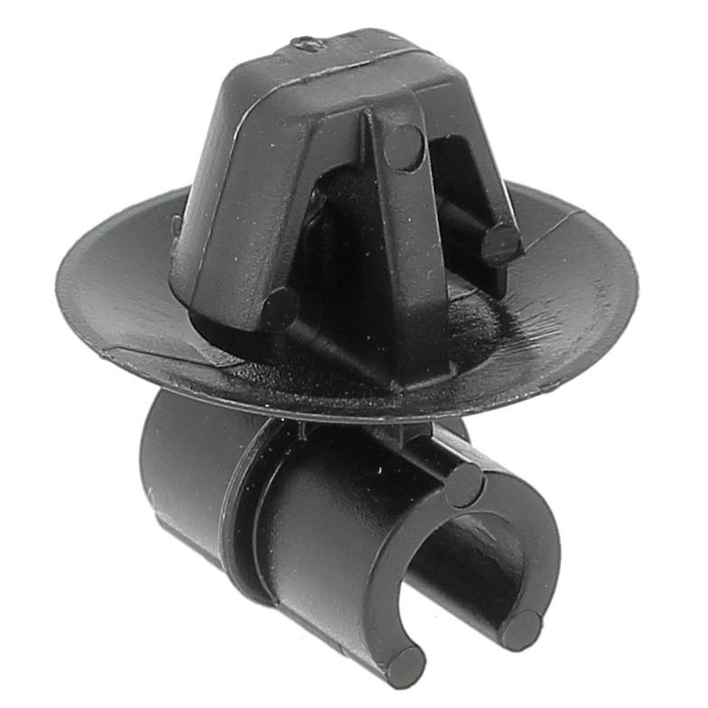Support Tube Ancre POM Noir